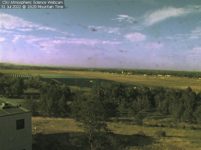 latest department webcam image